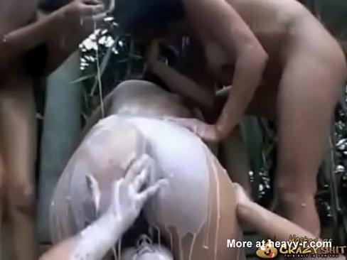 Kots seks compilatie met brakende dames